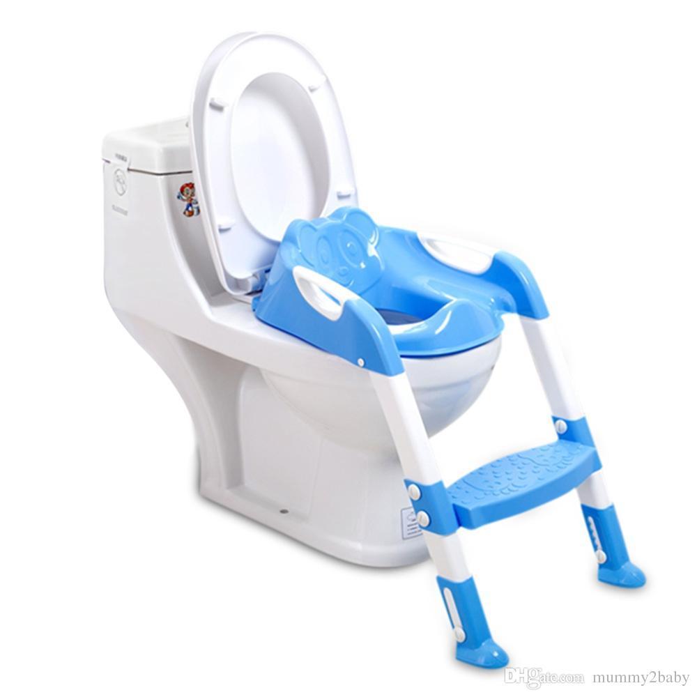 Acheter De Bébé Garçons Siège Bébé Avec Pot Pliage D'apprentissage Siège Échelle Enfants Avec Bébé Enfants Filles Échelle Chaise De Toilette Réglable stdQrCBhx