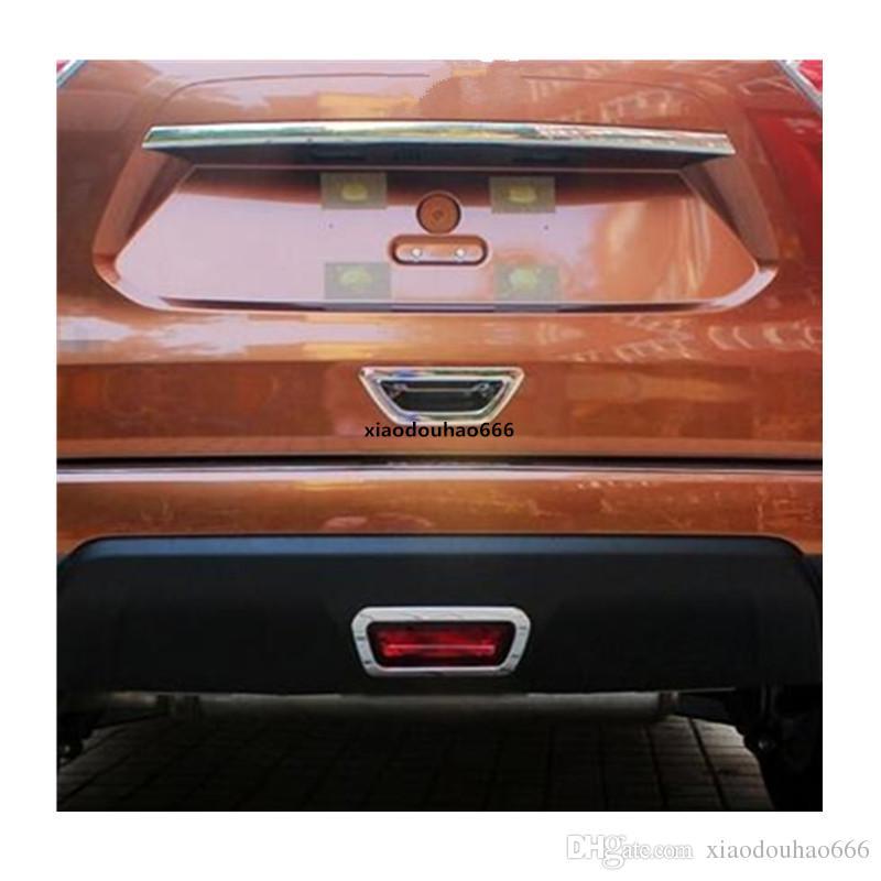 Fit Nissan X-Trail Rogue 2014 2015 Door Bowl Handle Cover Trim Chrome