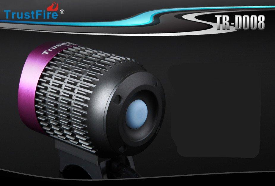 TrustFire TR-D008 3xCREE XML T6 2000LM 4-Mode LED Bicycle Bike Light