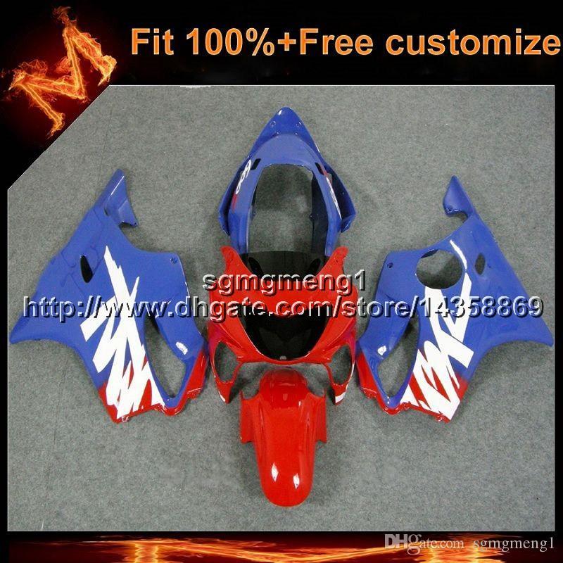 23 colores + 8 regalos Molde de inyección azul rojo casco de motocicleta para Honda 00 CBR600F4 1999-2000 F4 99 00 CBR 600 Carenado de plástico ABS