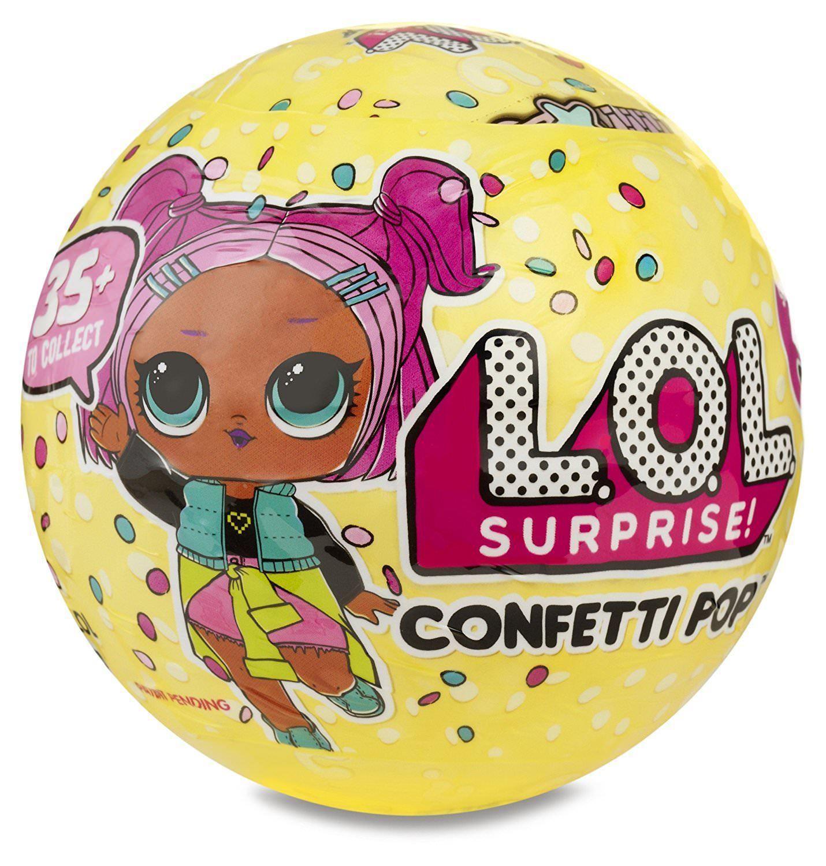 Confetti Pop Series 3 Wave 1 Lol Surprise Doll Lol Balls Change