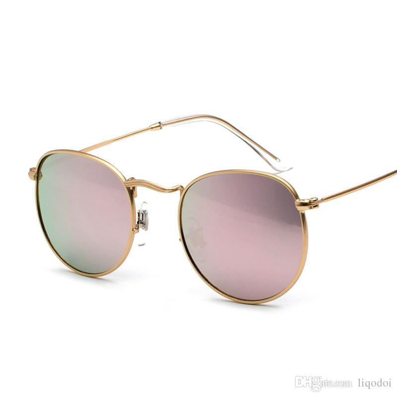Vintage Cool Hommes Femmes Sécurité Lunettes de soleil Shades Miroir Lunettes Eyewear