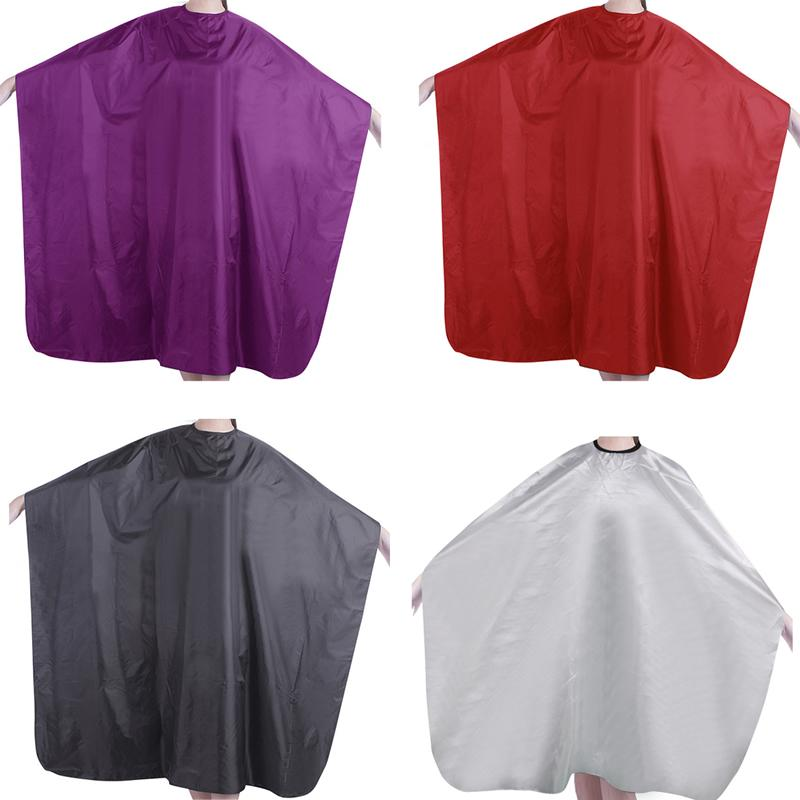 Waterproof Adult Salon Hair Cut Hairdressing Hair Dye Barber Cape Gown Cloth Professional