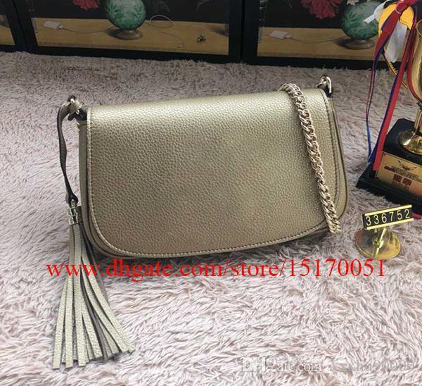 nouvelles femmes célèbres designer véritable sacs à bandoulière en cuir sur la chaîne haute petit cuir véritable de qualité sac pour dame 701