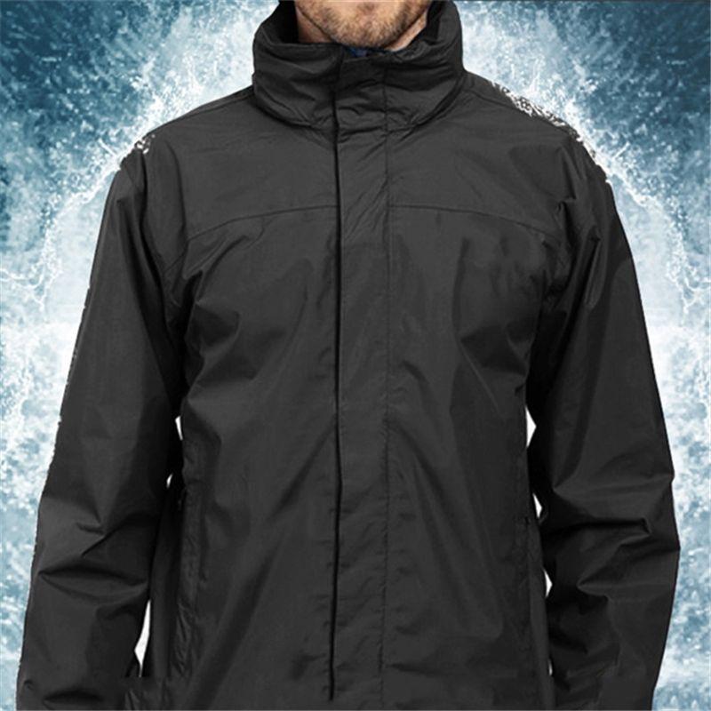 Mens Jacket Primavera Outono outwear jaqueta casaco corta-vento com capuz Zipper Moda revestimentos encapuçados exterior Desporto Asiático Tamanho da Roupa Masculina