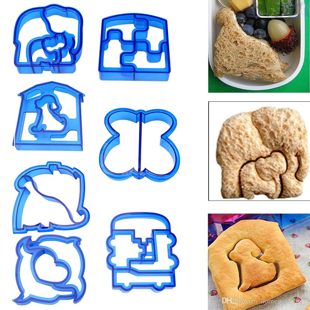 Kids DIY Lunch Sandwich Toast Cookies Mold Cake Bread Biscuit Food Cutter Mould 9x10x2cm Baking Cake Stand Mold Cookie Cutter