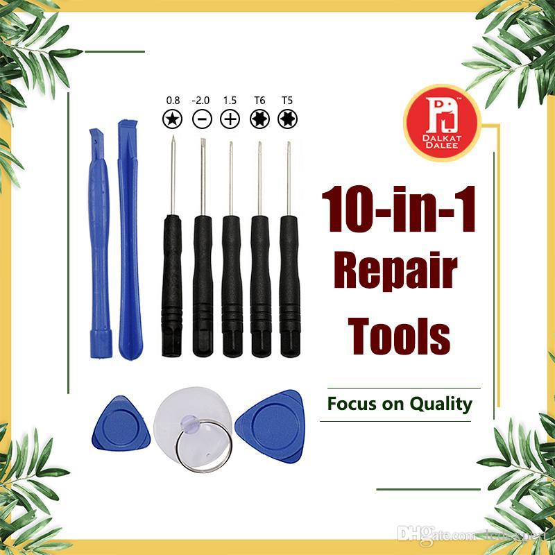 10 em 1 ferramentas de abertura kit pry repair tool com chaves de fenda ferramenta de substituição para iphone samsung galaxy s4 sony blackberry