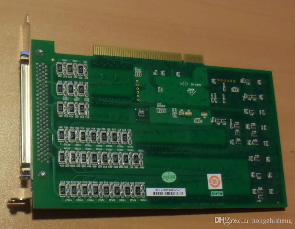 Endüstriyel ekipman kartı PCI-1754 REV.A1 01-1 64-ch İzole Dijital Giriş PCI Kartı
