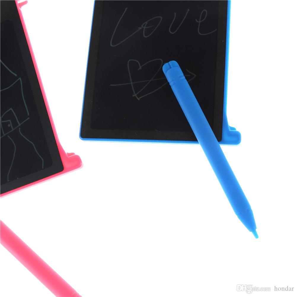 2018 Heißer verkauf 4,4 zoll elektronische schreibblock Grafische lcd-schreibunterlage Mit Stylus Pen lcd-schreibentablette