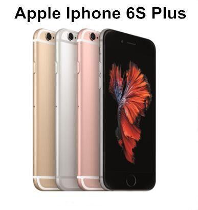 """Original Apple iPhone 6S / iPhone 6S Plus Dual Núcleo 2GB RAM 16GB 64GB 128GB ROM 5.5 """"Polegada 12.0MP Camera LTE desbloqueado telefone remodelado"""