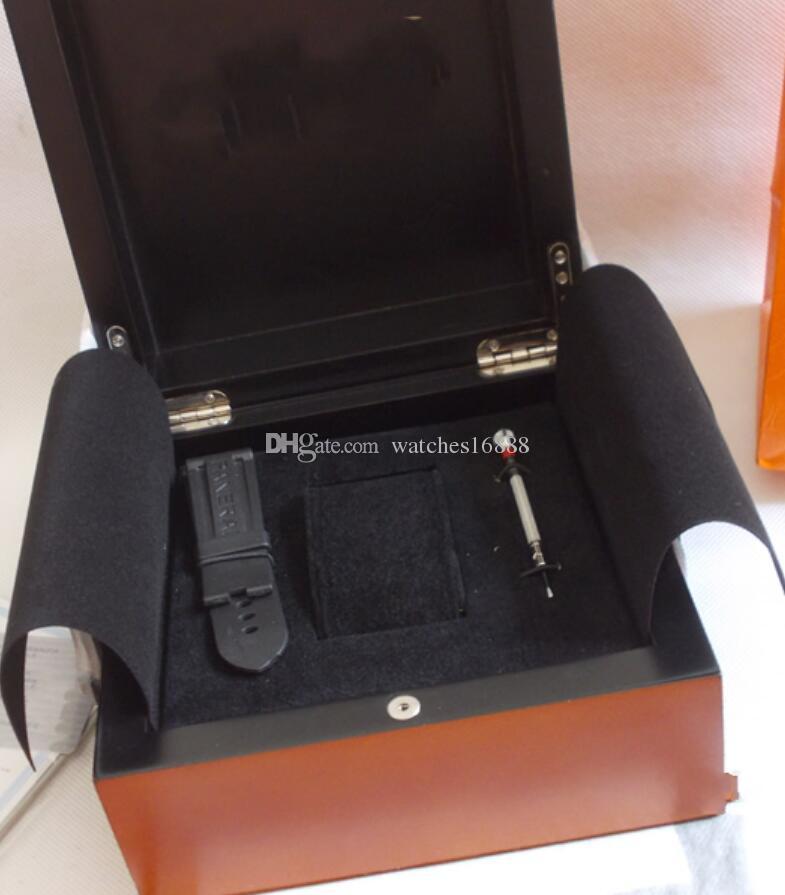 جودة عالية ووتش مربع الملحقات رجل إمرأة 1950 Pam Watch Papers Wood Box Papers Box التلقائي آلات الكوارتز