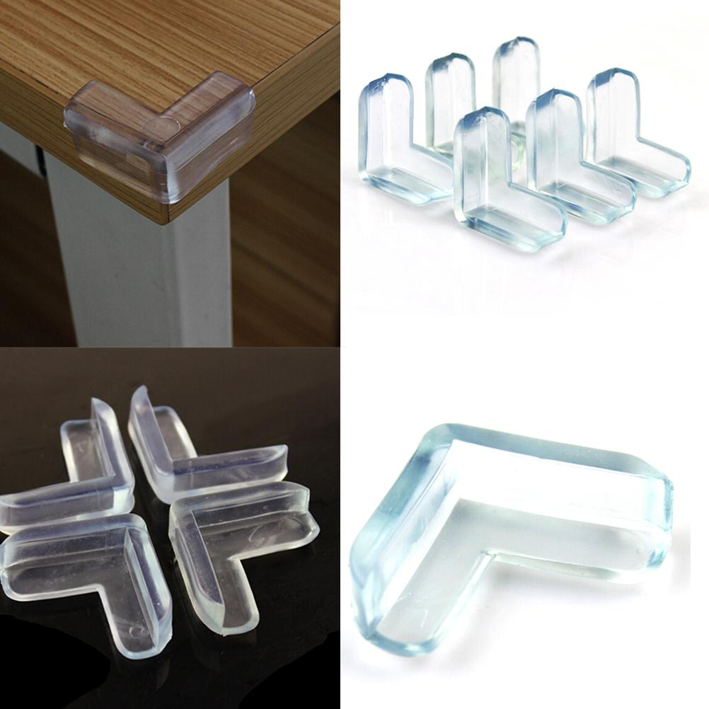 4pcs//lot Child Baby Safety Silicone Protector Table Corner Edge Protection Cover