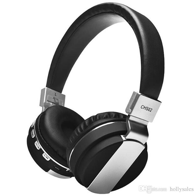 HiFi Беспроводные стереофонические наушники-наушники-наушники с FM TF Card Surport Bluetooth Earbuds Gaming Headset 4 цвета выбирают
