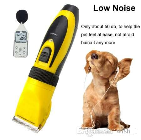 Professional Pet Dog Hair Trimmer 35W Cat Pet Clipper Dog Rabbits Hair Shaver Powerful Horse Grooming Cutting Scissors Machine