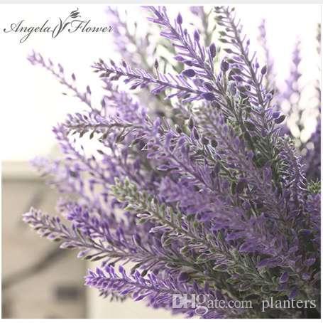 Romantique Provence décoration fleur de lavande soie fleurs artificielles grain décoratif Simulation de plantes aquatiques