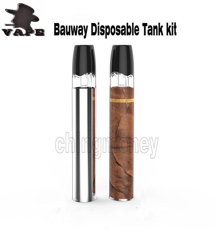 Original Disposable Ttank kits 260mAh Battery Portable Vape mod 0.5ml atomizer capacity Vape Pen Vaporizer Cartridge Electronic Cigarette