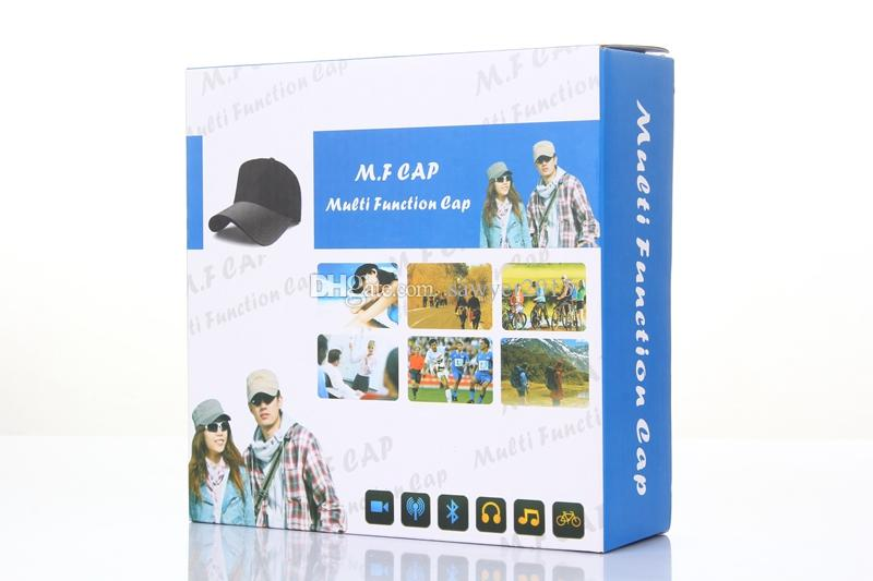 Multi-Function CAP Camera With Bluetooth & Remote Camera HD 1080P Cap Pinhole DVR Hat Video Recorder Camcorder Support TF Card