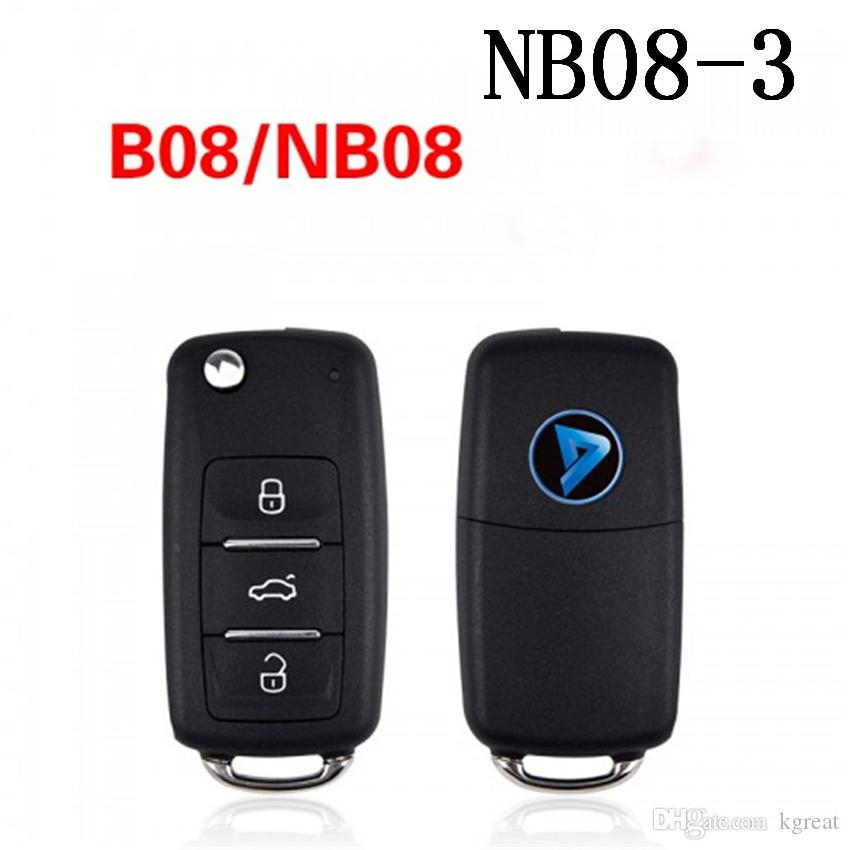 KEYDIY NB série NB08-3 Clé de télécommande multifonction pour KD300 et KD900 pour produire n'importe quelle télécommande