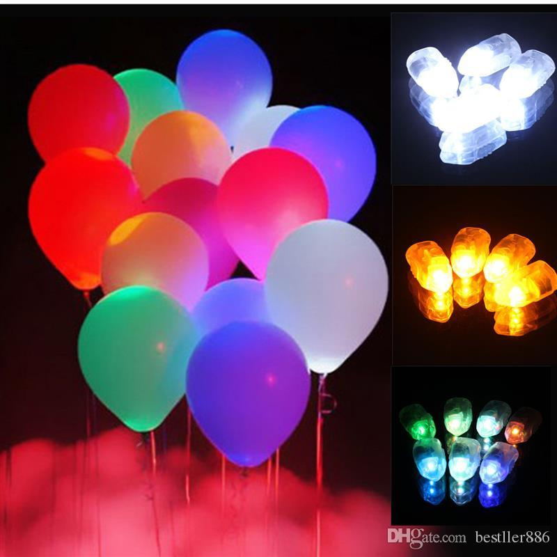 New 2016 100pcs Waterproof LED Light For Paper Lantern Ballon Christmas Wedding Party Decor Hot Sale