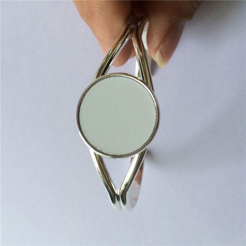 Frauenarmbänder für die Sublimation arbeiten modische Armbänder für die Hitze um, die Verbrauchsmaterialpersönlichkeitsgeschenke druckt 06827 Großverkauf 25mm 06827