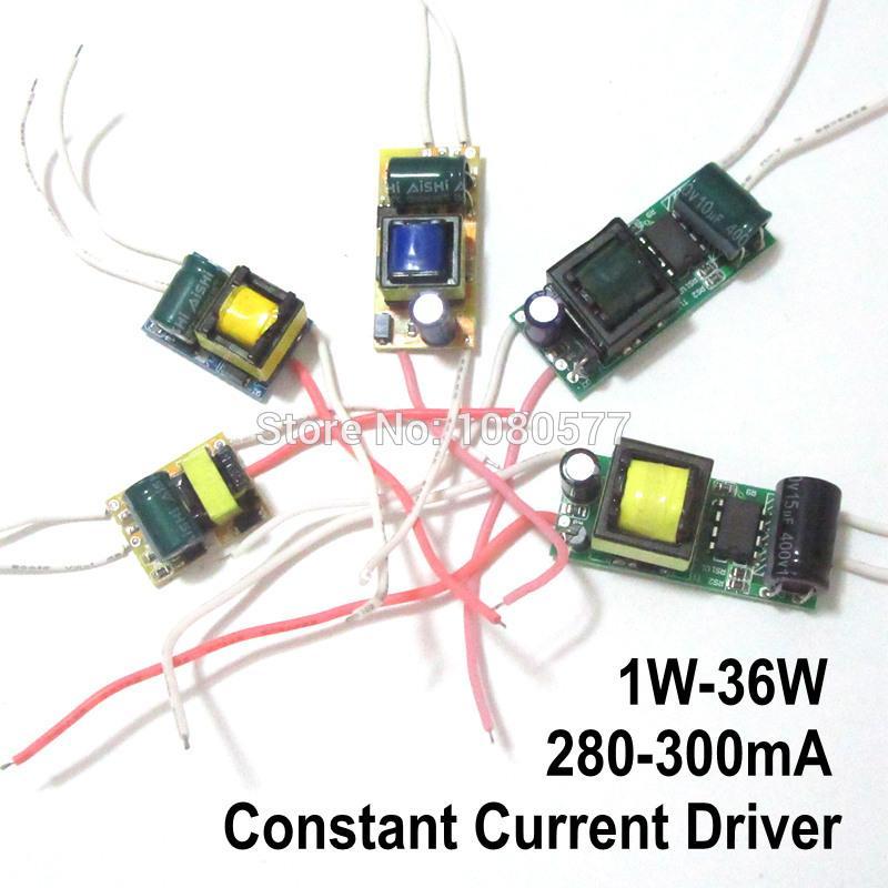 Motorista LED 2pcs atual Lâmpada de Alimentação 280mA 300mA 1W 3W 5W 7W 9W 10W 20W 30W 36W Iluminação Transformer