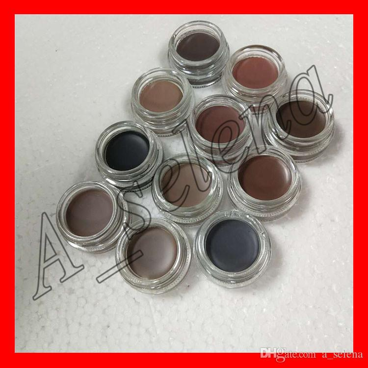 2017 New Eyebrow Cream Pomade Eyebrow Enhancers Makeup Eyebrow 11 Colors With Retail Package free shipping