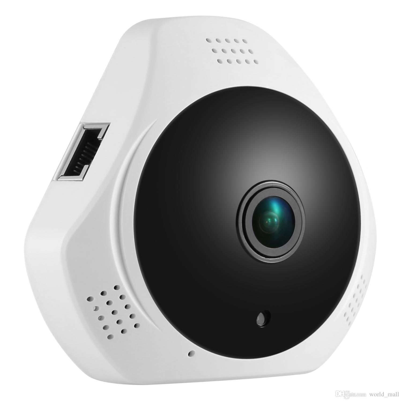 360 Degree Wireless Panoramic Camera MINI 960P Network Wi-fi Fisheye Security IP Camera WIFI 1.3MP Video Built-in MIC