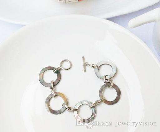 Joyería caliente de la manera de la madre de la vendimia pulseras de perlas de mujeres de la perla pulsera