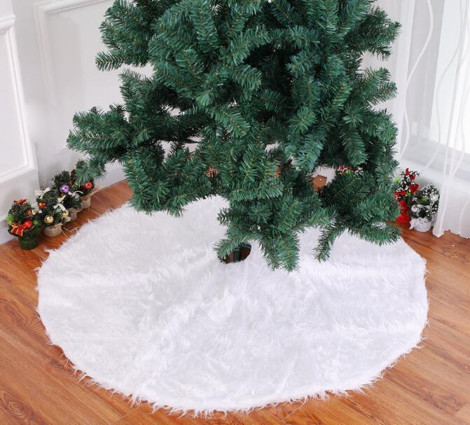 color blanco 120 cm Mnsruu Falda para /árbol de Navidad