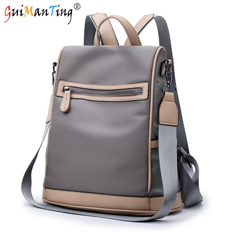 9757c5fef6 wholesale Travel Women Bag Student Oxford Small Backpack Waterproof Totes  Luggage Anti-theft Schoolbag Duffle Luxury Designer Organizer
