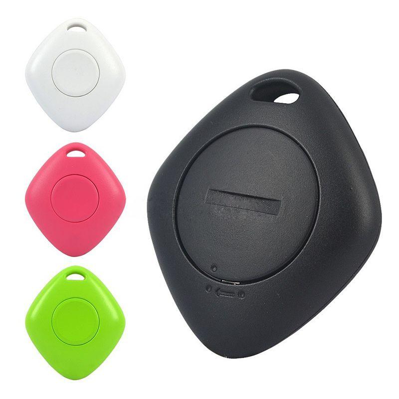 Mini Bluetooth Wireless Smart Finder iTag 4pcs Tracker Borsa per animali da compagnia Portafoglio Portafoglio Chiave Anti-Allarme perso con batteria