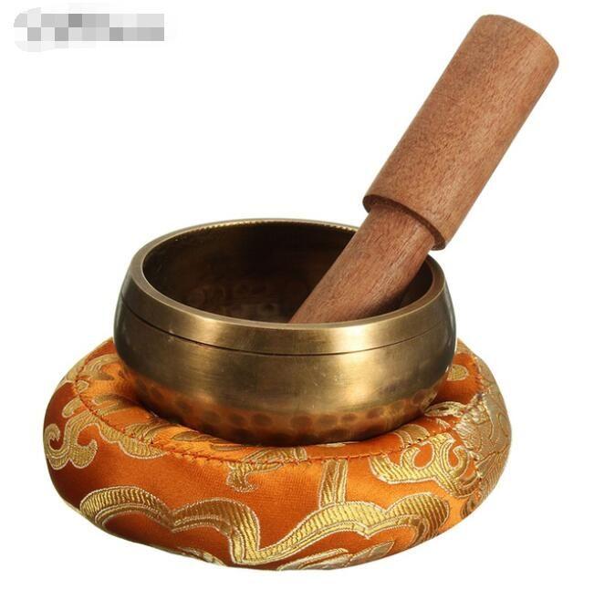 8 см ручной молоток паровой двигатель Тибетский чаша набор деревянные йога буддийские подарки украшения дома ремесла + без аксессуаров