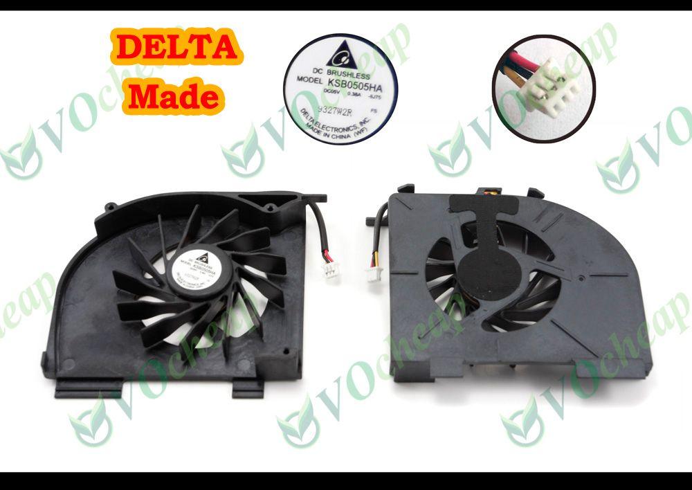 Nuovo Notebook Portatile Raffreddamento per CPU Raffreddamento ventola per HP Pavilion DV5 dv5t dv5-1000 dv5t-1000 dv6 dv6-1100 0.38A DC05V- KSB0505HA -8J75