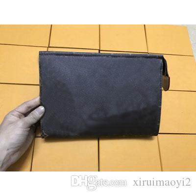 bolso rectangular mujer bolso de maquillaje de viaje nuevo diseñador de alta calidad hombres lavado bolsa famosa marca cosmética bolsas
