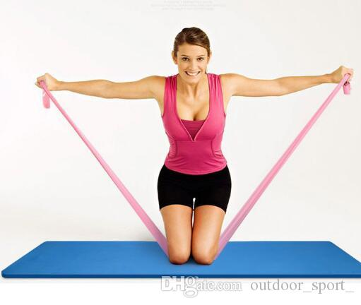 Yoga Stretch With Elastic Band Fitness Men And Women Resistance