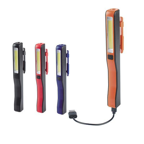 Magnetisch LED Kolben Inspektionslampe Arbeit Taschenlampe Licht Aufladbare USB