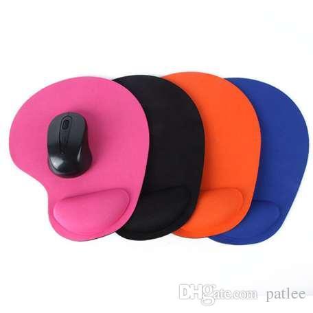 لوحة الماوس المعصم حماية كرة التتبع الضوئية PC رشاقته لوحة الماوس لينة الراحة ماوس الوسادة بساط الفئران