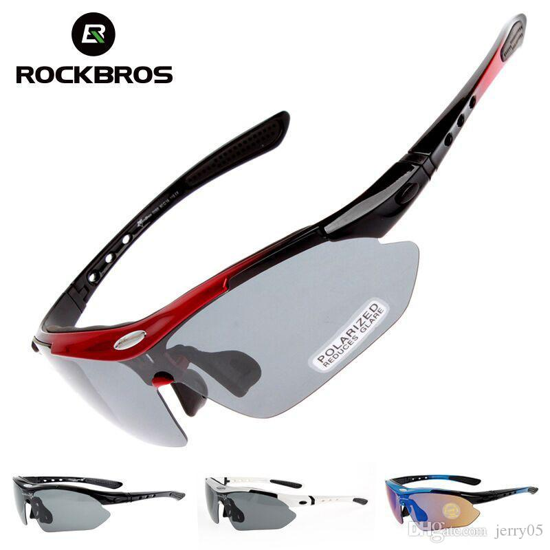 Polarisierte Radfahren Brille 5 Objektiv Clear Bike Brillen UV400 Beweis Outdoor Sport Sonnenbrille Männer Frauen Oculos Gafas Ciclismo
