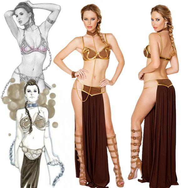 Princess Leia Sexy Slave Costume