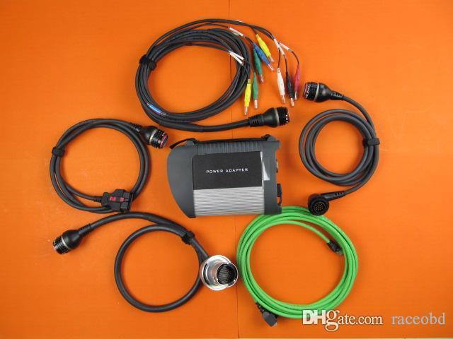 meilleure qualité avec wifi mb étoile c4 voiture et camion outil de diagnostic sans disque dur dhl livraison gratuite