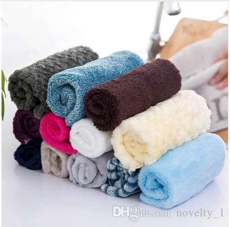 5 Pc/set Washing Towel Microfiber Cleaning Cloth High Quality Scouring Pad Car Computer Cloth Kitchen Accessories