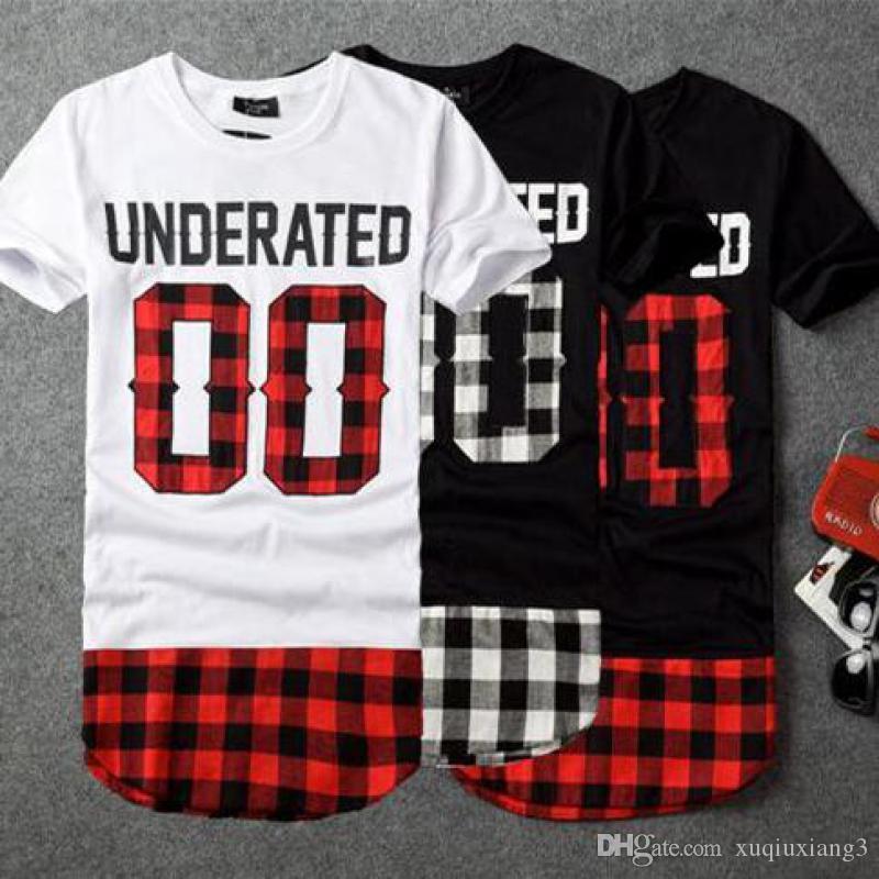 BRSR 2018 UNDERATED Bandana Männer Erweiterte T-shirts Männer Skateboard Element t-shirt Hip Hop t-shirt Streetwear Kleidung