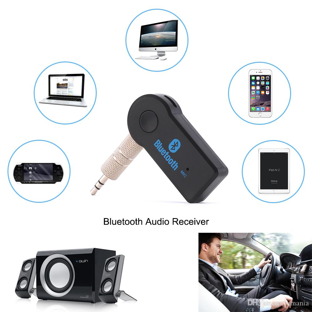 3.5mm Jack Audio Music Receiver Wireless Receiver Adapter Car Aux Kits