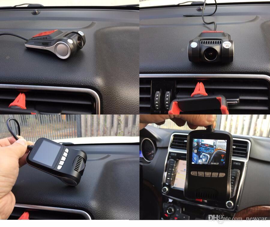Newcar Araba Dvr Mini Araba DVR Kamera Dashcam Full HD 1080 P Video Registrator Kaydedici G-sensor Gece Görüş Çizgi Kam