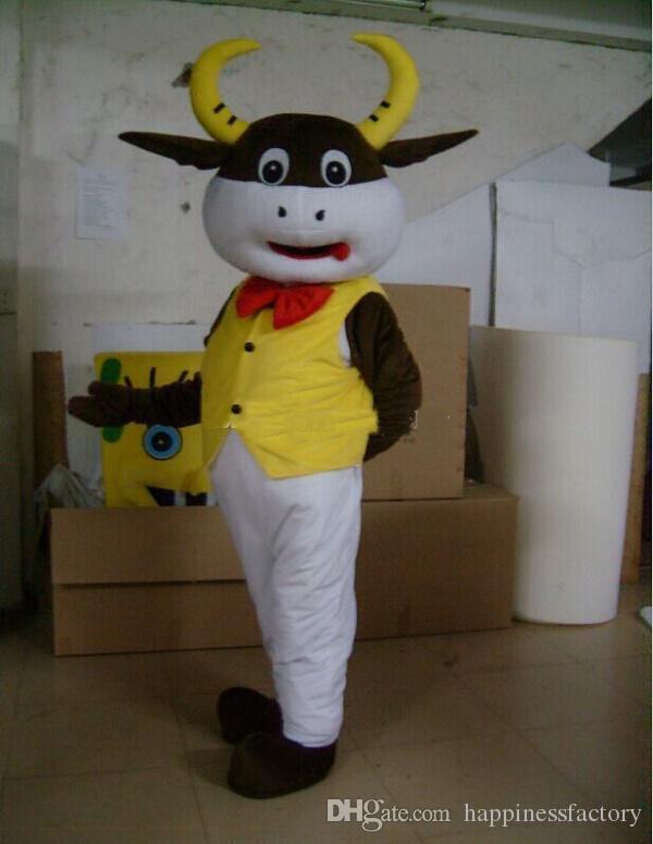 2018 Indirim fabrika satış çeşitli inek karikatür bebek maskot kostümleri sahne kostümleri Cadılar Bayramı ücretsiz kargo