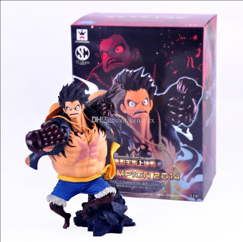 2019 New Hot 17cm One Piece Gear Fourth Monkey D Luffy Action Figure Toys Christmas Toy With Box From Ken12cx 19 3 Dhgate Com