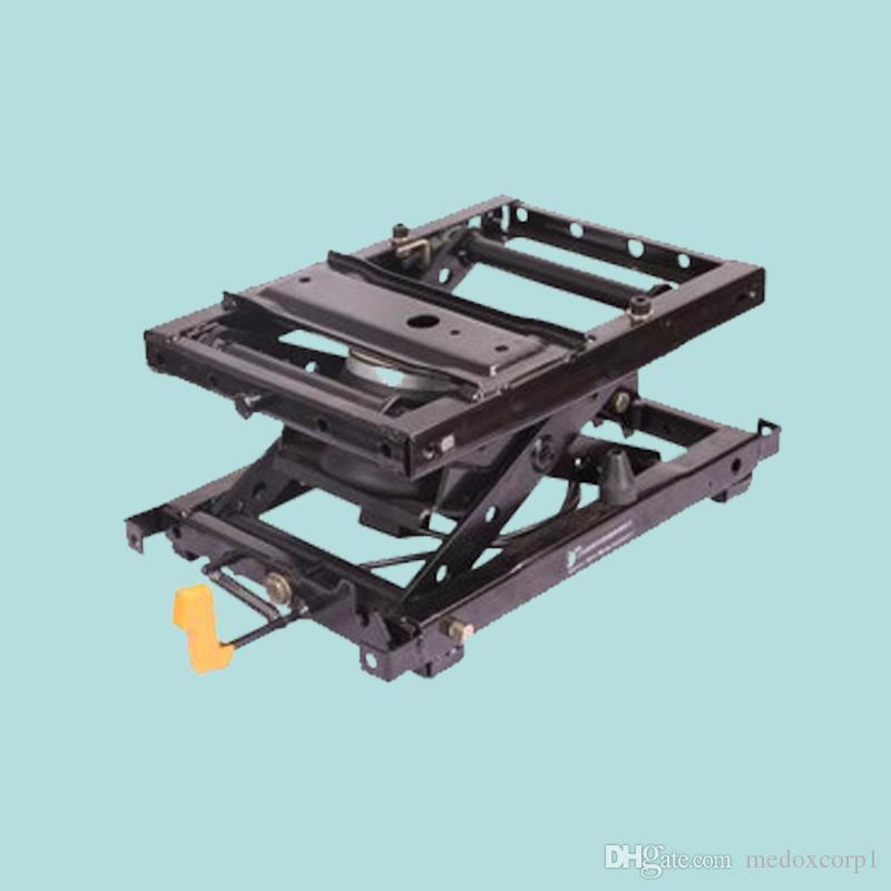 Sistema de absorção de choque com suspensão a ar para operador de assento no carregador, descarregador, transportador de esteira, escavadeira, pavimentadora, rolete, muletas