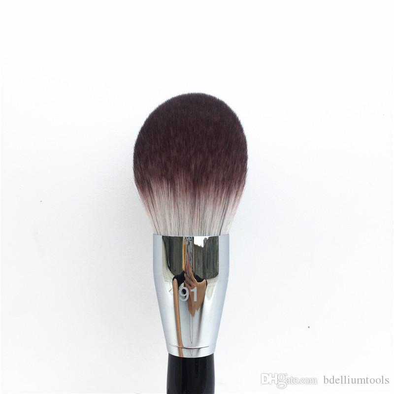 PRO Featherweight Powder Brush #91 - Soft Hair Large Powder Blender Body Foundation Brush - Beauty Makeup Brush Blender