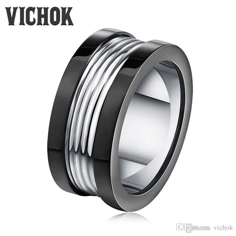 Jóias rocha moda homens anel mulheres para anel de aço inoxidável inoxidável gótico viciou vich punk anel masculino legal jewellry titanium ximk