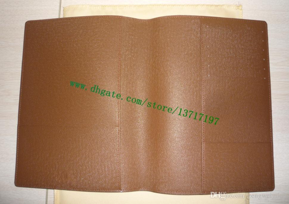 أعلى درجة براون قماش المغلفة العجل الجلد الحقيقي مكتب جدول تغطية R20100 25 * 18 سم